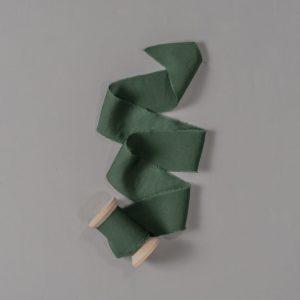 Nastro in velluto, verde muschio, by dream on wedding